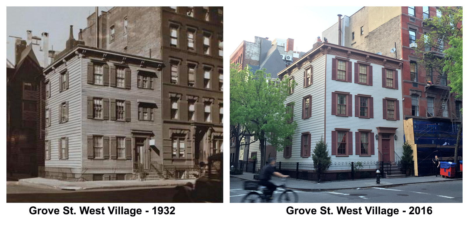 Grove St West Village - 1932
