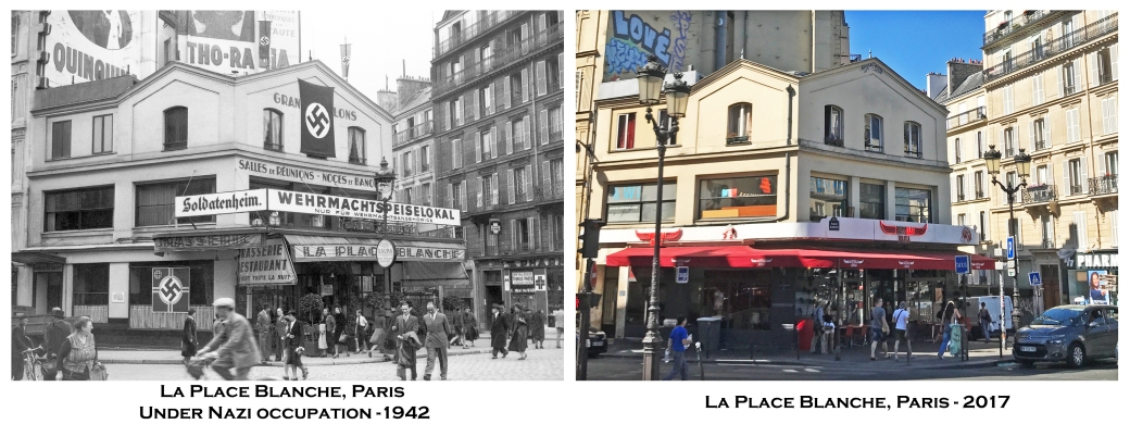 La Place Blanche, Paris Under Nazi occupation -1942