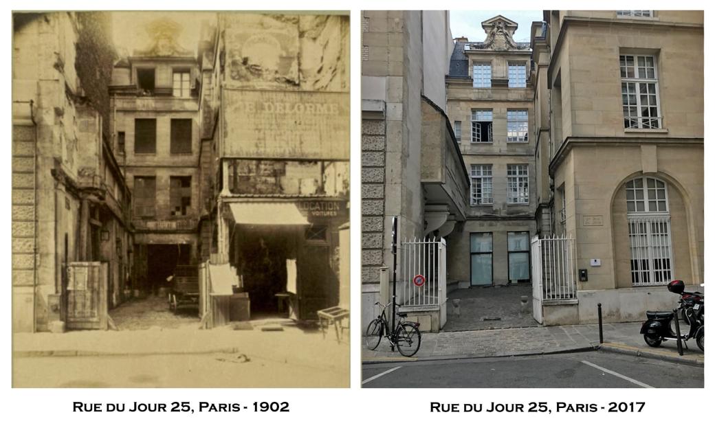 Rue du Jour 25, Paris - 1902