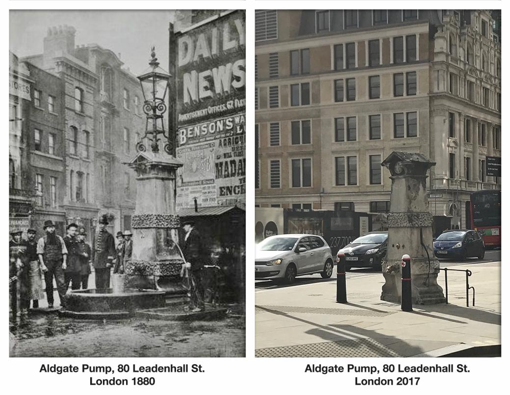 Aldgate Pump 80 Leadenhall St 1880