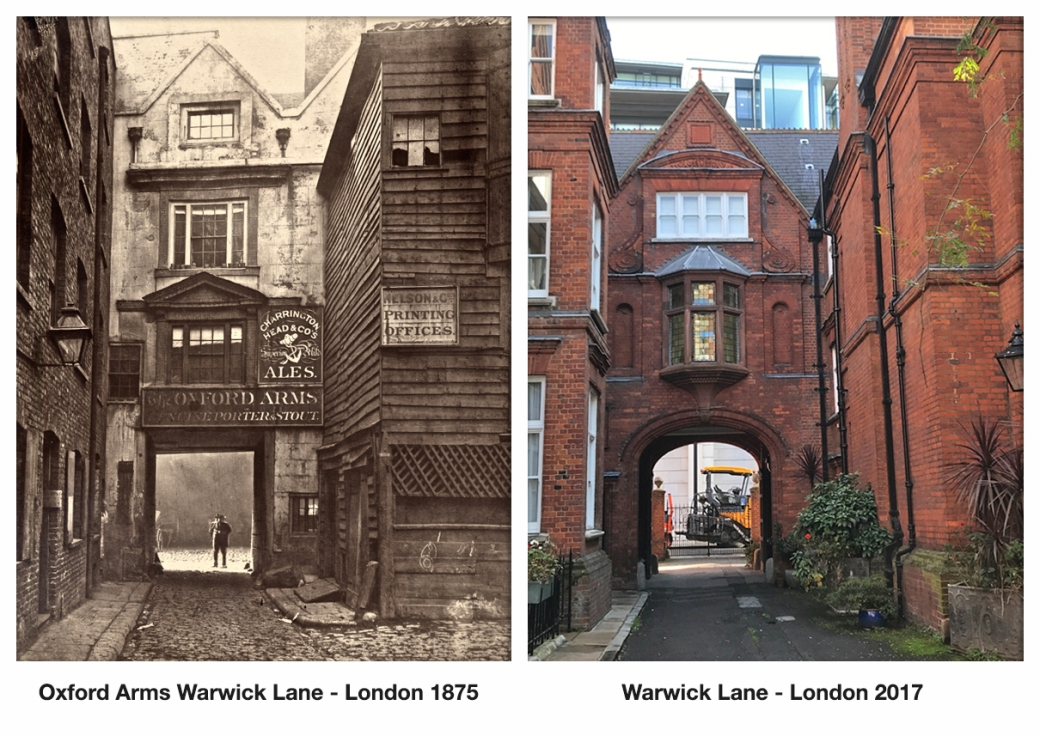 Oxford Arms Warwick Lane - London 1875