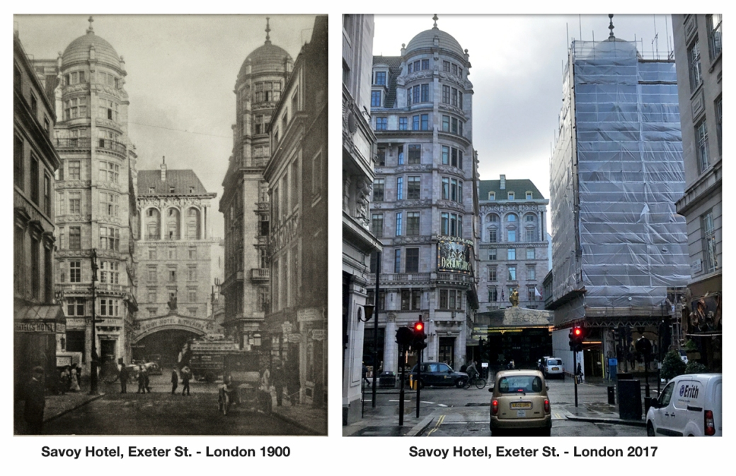 Savoy Hotel Exeter St London 1900