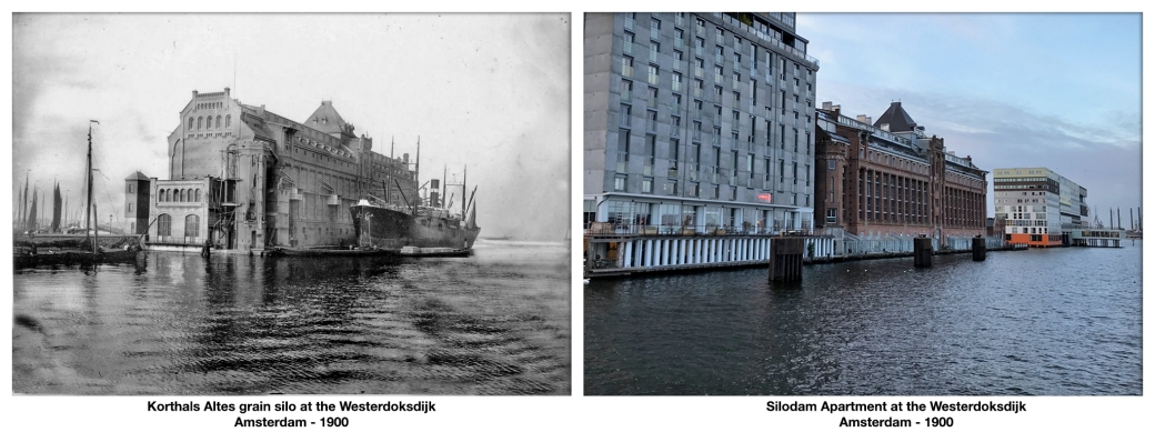 Korthals Altes grain silo Amsterdam - 1900