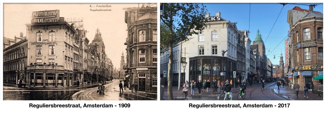 Reguliersbreestraat, Amsterdam - 1909