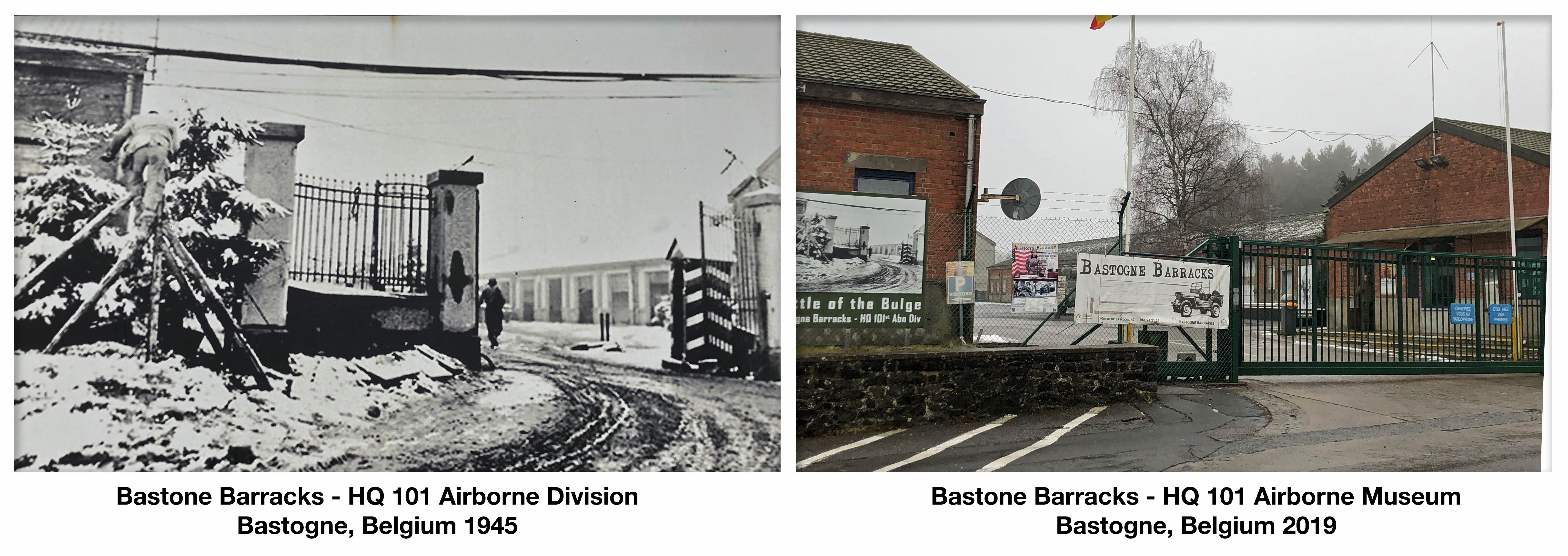 Bastone Barracks - HQ 101 Airborne Division Bastogne, Belgium 1945-2019