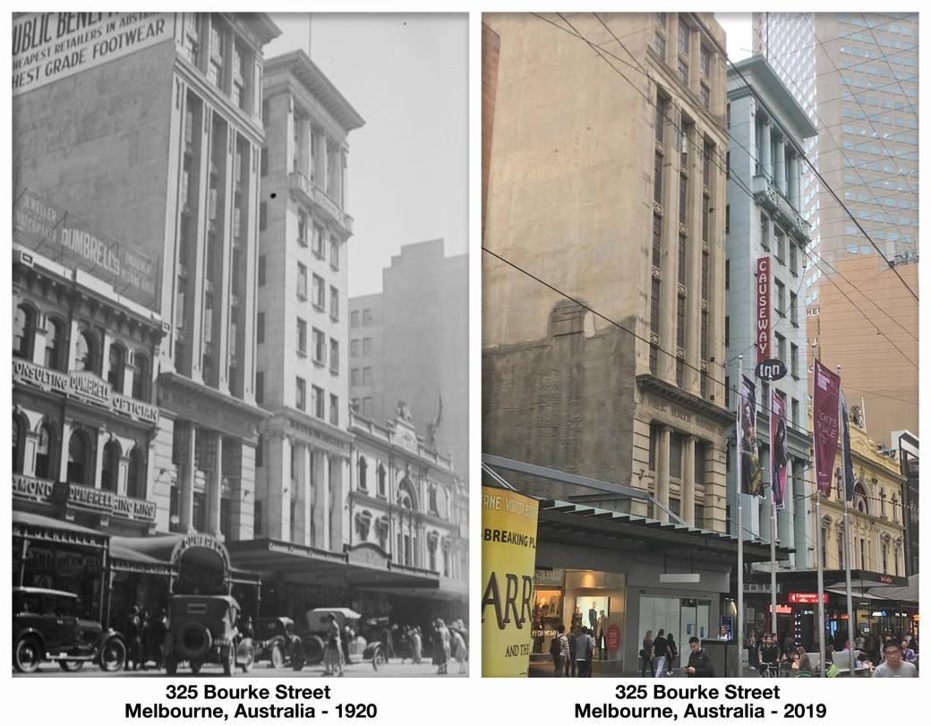 325 Bourke Street Melbourne, Australia - 1920 - 2019